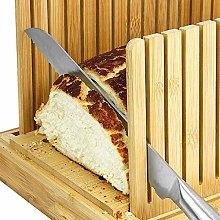 Bread Slicer for Homemade Bread Wooden Foldable