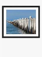 Breaker Block - Framed Print & Mount, 56 x 66cm,