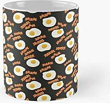 Breakfast - Bacon and Egg Classic Mug A Novelty