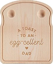 Breakfast Dippy Egg Cup Board Wooden,Farthers Day