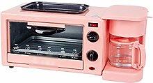 Breakfast,Machine Toaster Coffee Machine Oven Egg