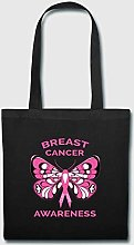 Breast Cancer Awareness Butterfly Pink Ribbon