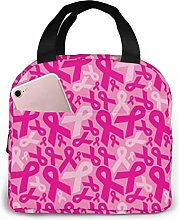 Breast Cancer Lunch Bags Insulated Travel Picnic