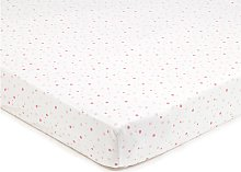 BreathableBaby Cot Sheets - English Garden