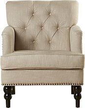 Breithaup Armchair Fairmont Park Upholstery: Beige