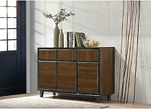 Bretton Storage Cabinet Cupboard with 3 Doors & 3