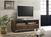 Bretton TV Unit Stand Cabinet Walnut Living Room