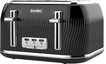 Breville Flow 4 Slice Toaster Black