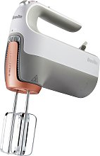 Breville VFM021 HeatSoft Hand Mixer - Silver and
