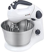 Breville VFP026 Twin Stand and Hand Food Mixer, 10