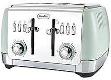 Breville Vtt768 Strata 4-Slice Toaster - Green