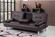 Bria 3 Seater Clic Clac Sofa Metro Lane Upholstery