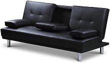 Bria 3 Seater Clic Clac Sofa Metro Lane