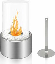 BRIAN & DANY Tabletop Bio Ethanol Fireplace with