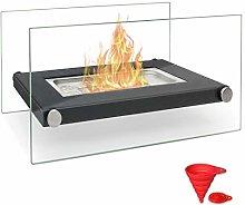 BRIAN & DANY Tabletop Bio Ethanol Fireplace