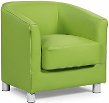 Brian Tub Chair Metro Lane Upholstery Colour: Green