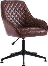 Briana Ergonomic Desk Chair Blue Elephant