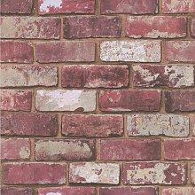 Brick 10m x 52cm Wallpaper Borough Wharf