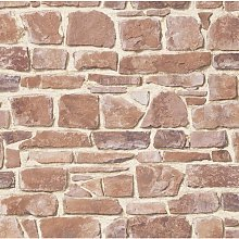 Brick Stone Wall Effect - Red - Luxury Textured