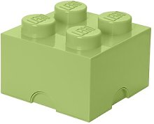 Brick Toy Box LEGO Finish: Yellow Green