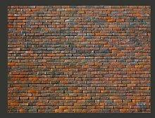 Brick Wall 2.31m x 300cm Wallpaper East Urban Home