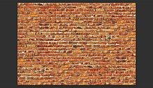 Brick Wall 2.45m x 350cm Wallpaper Williston Forge