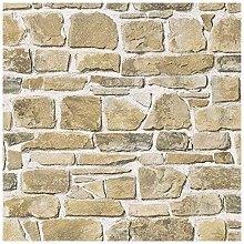 Brick Wall Pattern Faux Effect Realistic Mural
