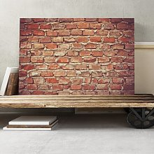 Brick Wall Photographic Print on Canvas Big Box Art