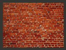 Brick Work 3.09m x 400cm Wallpaper East Urban Home