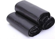 Briday - 1.2-1.5 Gallon Small Trash Bags, Black