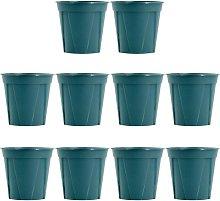 Briday - 10 Pcs Thickened Plastic Nursery Pots