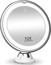 Briday - 10X Magnifying Makeup Mirror with Lights,