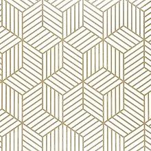 Briday - 17.71'x118' Geometric Hexagon