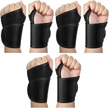 Briday - 3 Pairs Compression Wrist Strap Fitness
