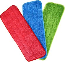 Briday - 3 Pieces Mop Microfiber Cleaning Pads