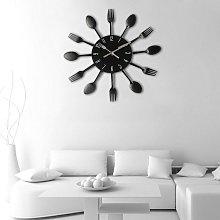 Briday - 3D Wall Clock Mirror Wall Clocks Stickers