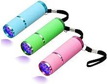 Briday - 3pcs LED Flashlight, Small Glow