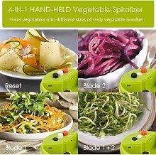Briday - 4 in 1 Spiralizer Vegetable Slicer,