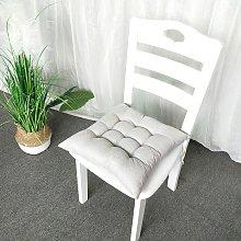 Briday - 40x40cm Chair Cushion Round Cotton