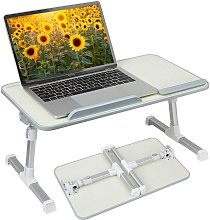 Briday - Adjustable Laptop Bed Table, Portable Lap