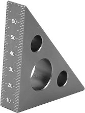 Briday - Aluminum Alloy Triangle Ruler Right Angle