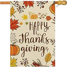 Briday - autumn house banner double-sided, welcome