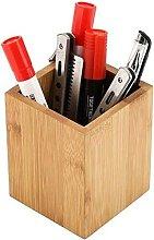 Briday - Bamboo Pen Holder Desk Storage Box Desk