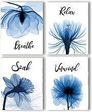 Briday - Blue Elegant Tulip Relax Soak Unwind