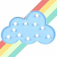 Briday - Cloud Modeling Night Lights - Blue LED