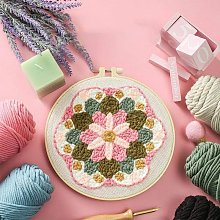 Briday - DIY Rug Hooking Kit, DIY Embroidery