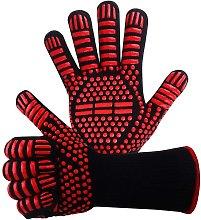 Briday - EN407 Non-slip Silicone Barbecue Gloves