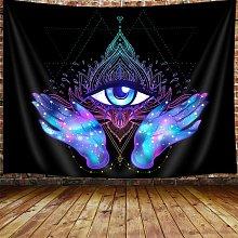 Briday - Evil Eye Tapestry, Psychedelic Purple