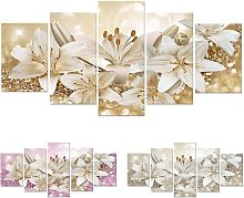 Briday - Fashion Wall Art Canvas Painting 5 Pieces