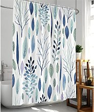 Briday - floral shower curtain, tropical shower